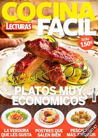 Cocina f cil lecturas enero 2016 platos muy econ micos libros de cocina cooking - Cocina facil y saludable thermomix ...
