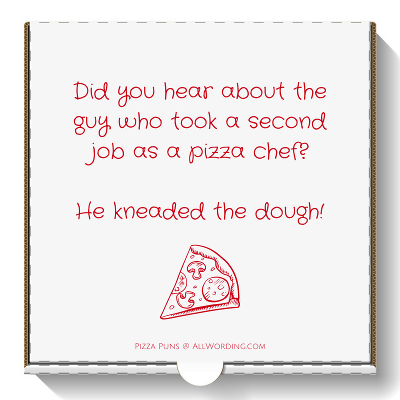 This List of Pizza Puns Comes With Extra Cheese