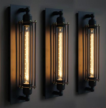 American Country Creative Vintage Wall Lamp Edison Wall Light