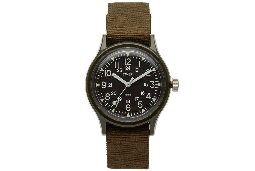 ce2248eef5fc Timex-30th-Anniversary-Reissue-Mk-1-Ltd-Edition-Camper-Watch-Front