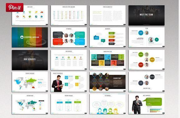 makassar timeline presentation template http://textycafe, Modern powerpoint