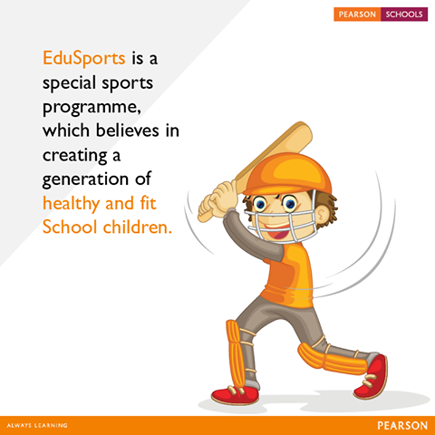 With daily lesson plans and specific props integrated with the curriculum-based on standards from NASPE (National Association of Sports and Physical Education), EduSports provides a structured physical curriculum and qualified trainers are appointed by EduSports to train students and measure their fitness. #AlwaysLearning   Give your child the best education. Enquire for admissions here: http://on.fb.me/1mF0moC.  #PearsonSchools