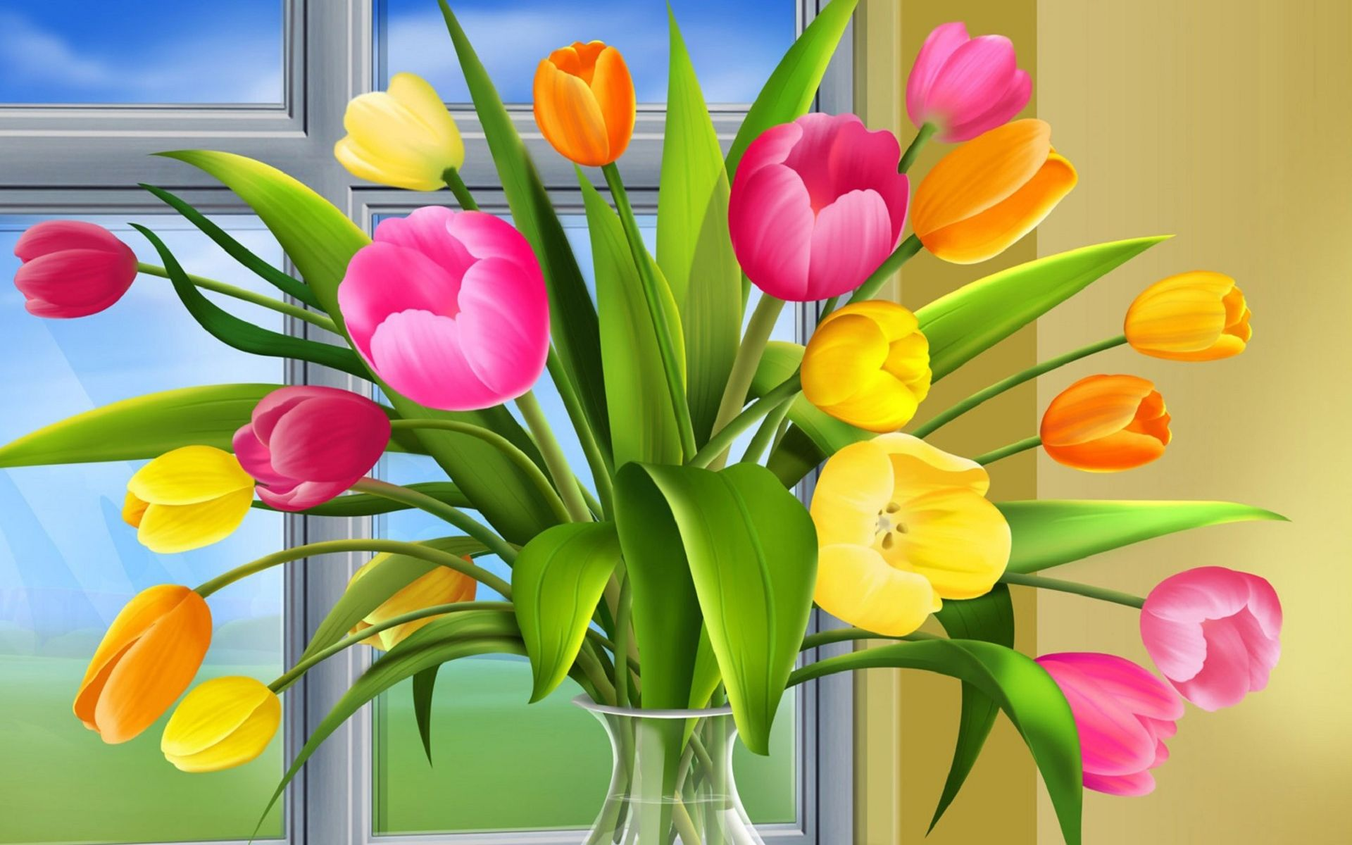 D flowers wallpapers hd widescreen for pc dekstop places to visit