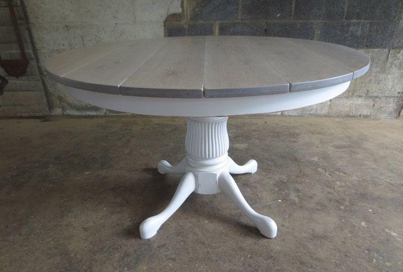 Round Pedestal Tables Round Oak Dining Table Grey Kitchen