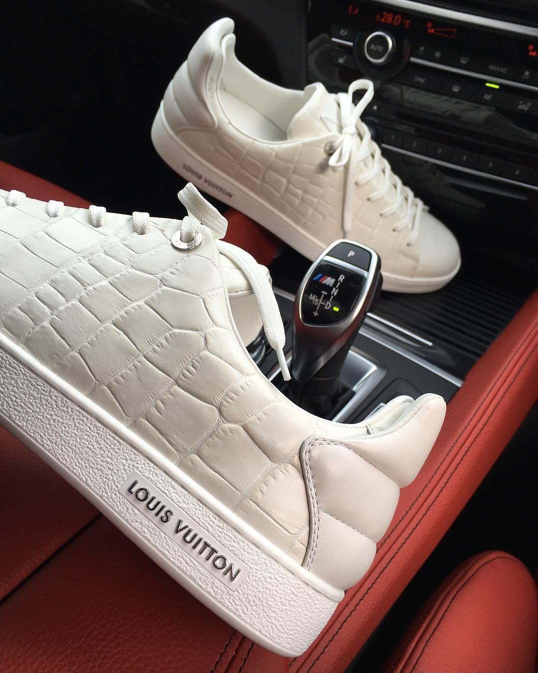 6c3d6aa41 louis vuitton low croc sneakers last pair size: 9UK 550 email:  ontarioactiveschooltravel.ca