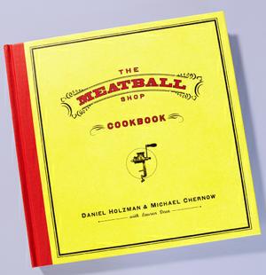 The Meatball Shop Cookbook, $15