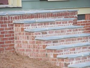 Best Brick And Slate Steps Brick Steps Porch Decorating 400 x 300