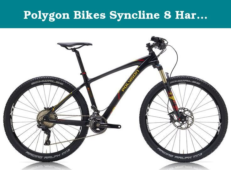 Polygon Bikes Syncline 8 Hardtail Mountain Bicycles Black Yellow