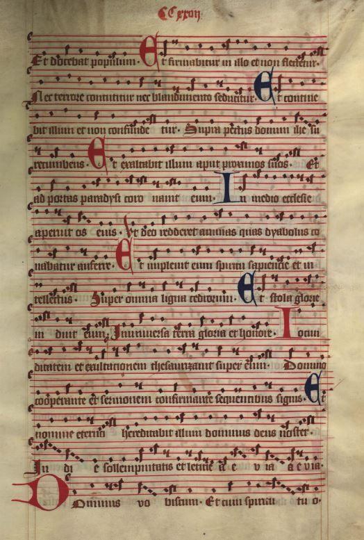 Moosburger Graduale um 1360 Moosburg Cim. 100 (= 2° Cod. ms. 156)  Folio 453