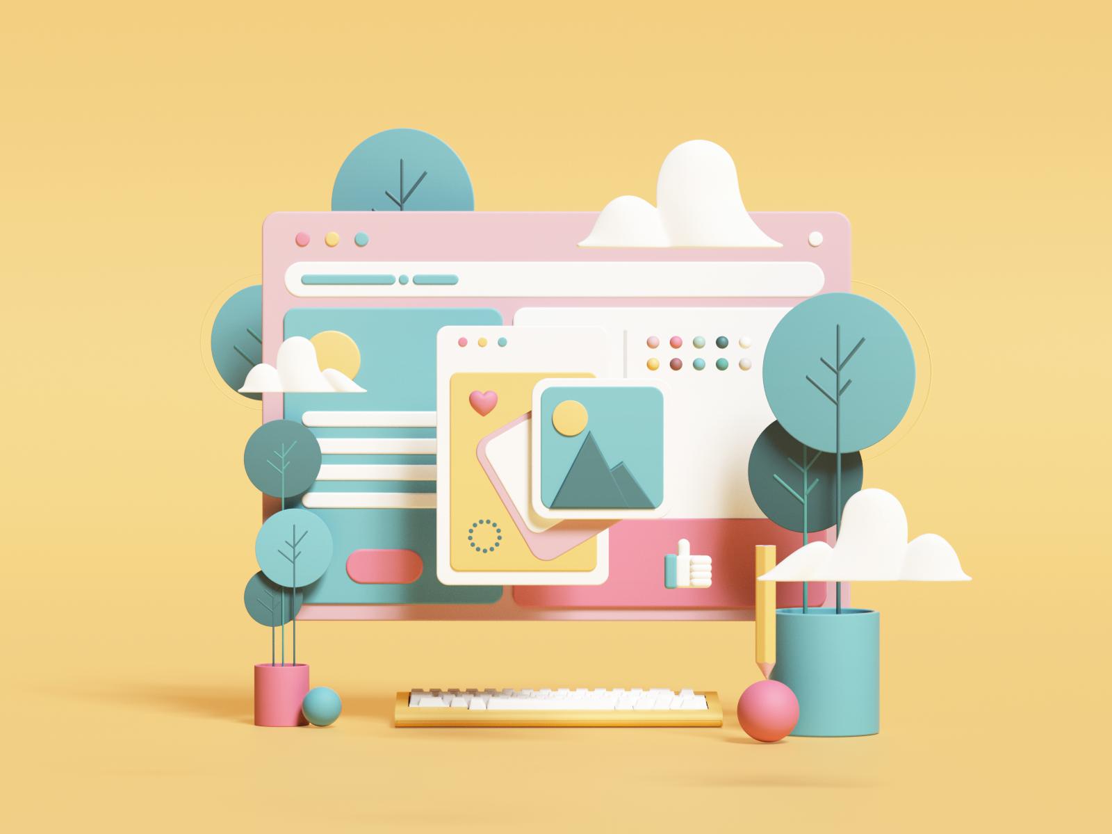 Web Illustrations Illustration Illustration Design Web Design