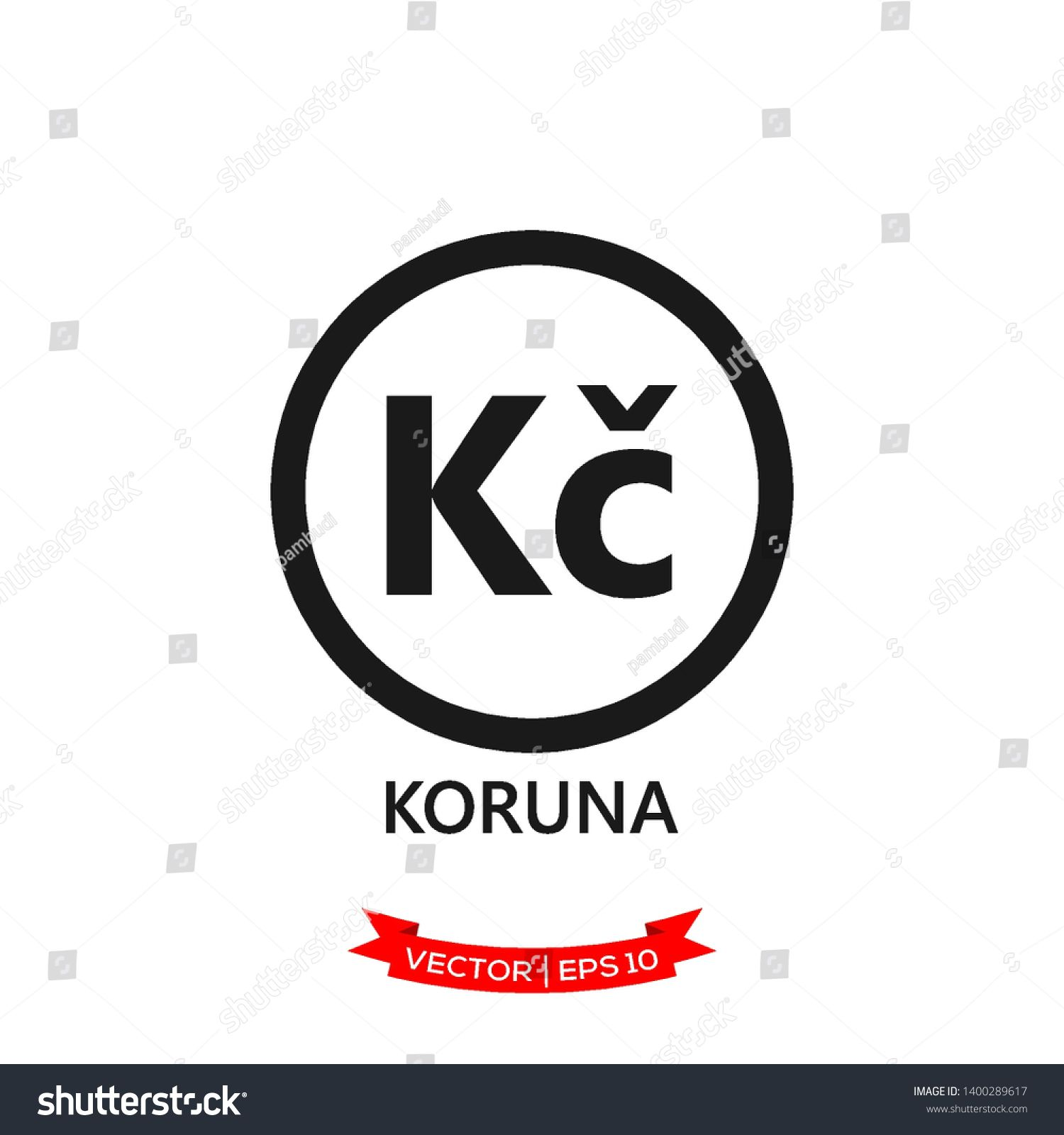 CZECH banking currency symbol, koruna vector icon #Ad , #AFFILIATE, #currency#banking#CZECH#symbol