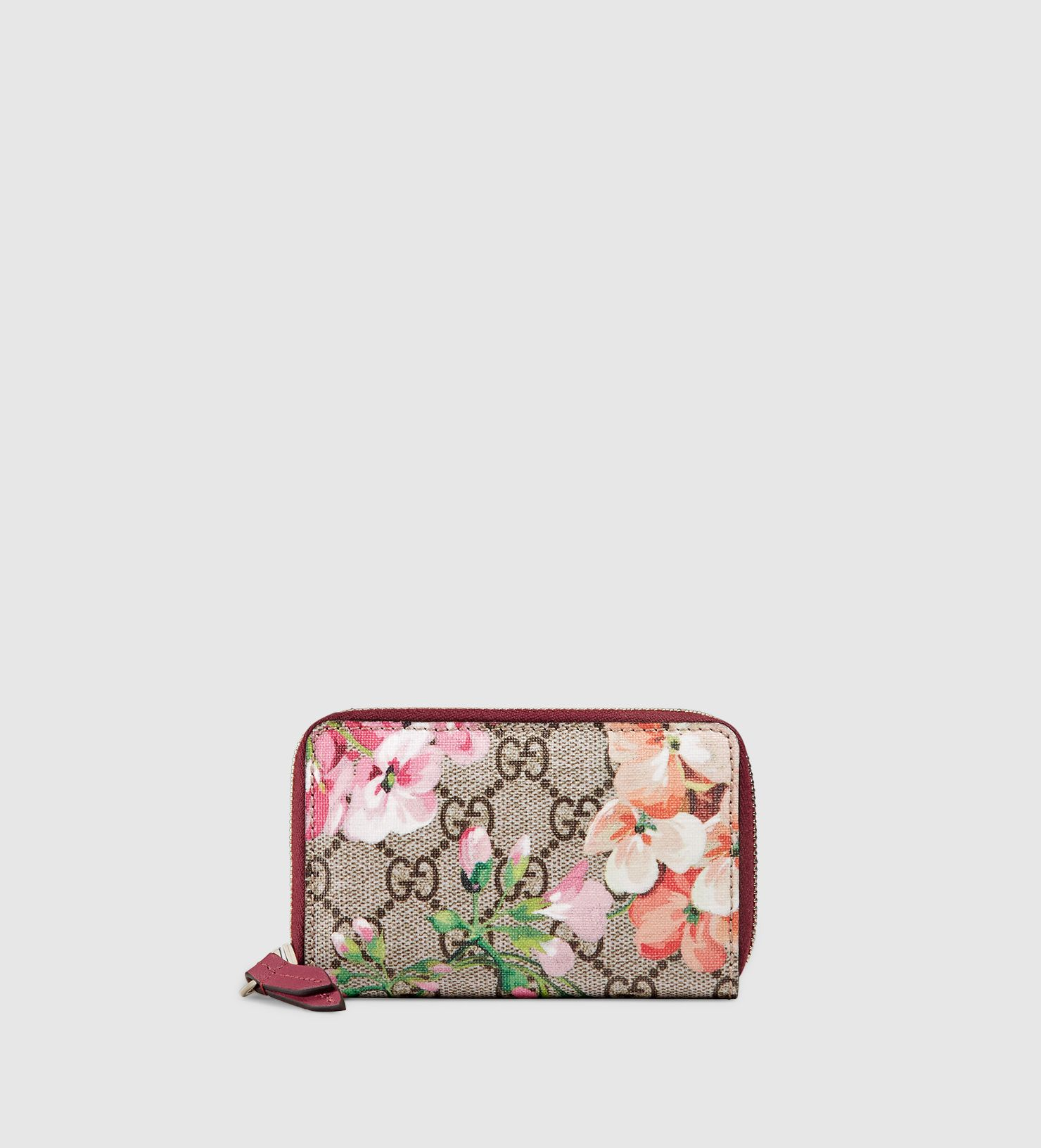 Gg blooms card case gucci luxury fashion wallet