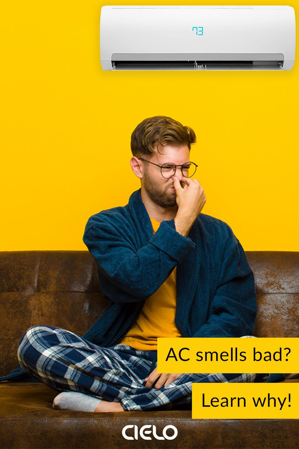 Air Conditioner Smells 5 Reasons Why Your AC Smells Awful