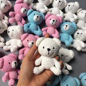 Leithygurumi: Amigurumi Bear Free English Pattern / Amigurumi Ayıcık Ücretsiz Türkçe Tarif - Design By Boom House #amigurumimodelleri