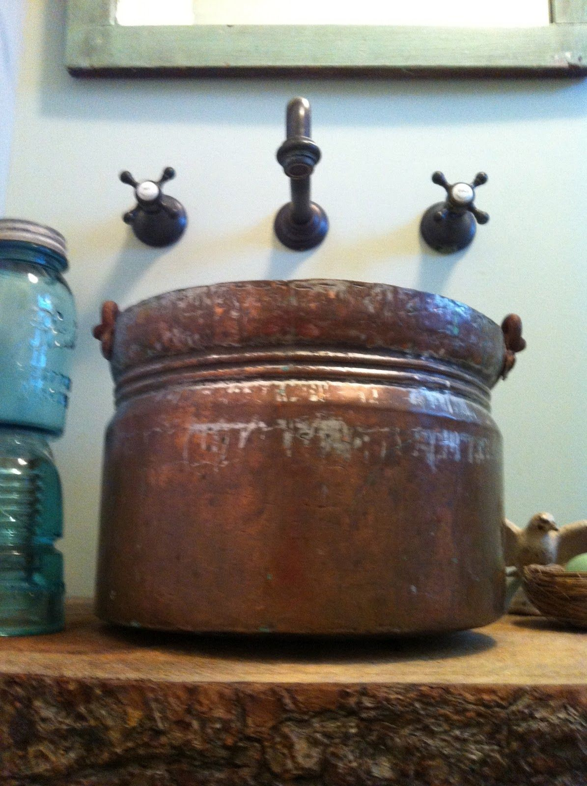 How to make your own vessel sink with a bowl. | My kind of D.I.Y ...