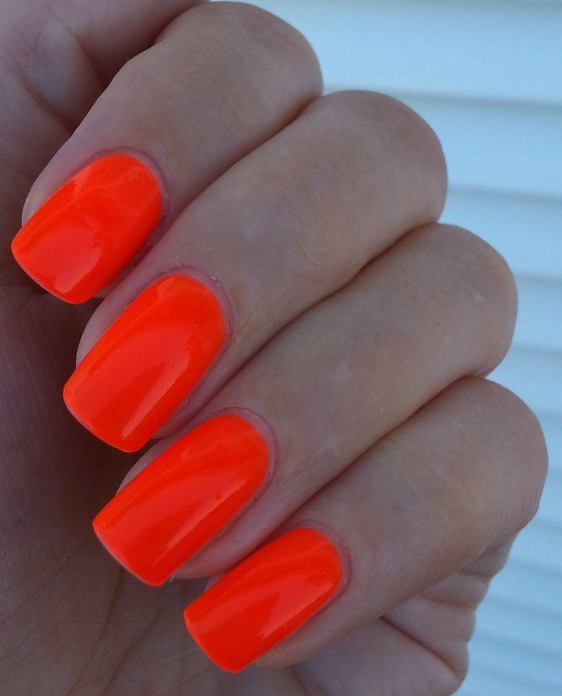 easy-paris-cosmetics-nail-varnish-neon-orange (6).jpg (790×978) | 8 ...