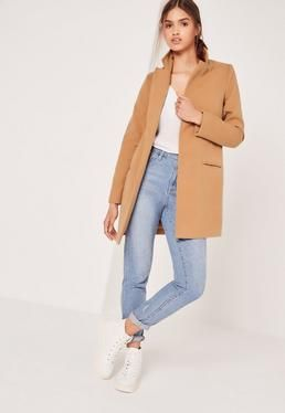 Court Coat Laine Acheter Style Manteau Outfit CamelÀ TKJl3F1c