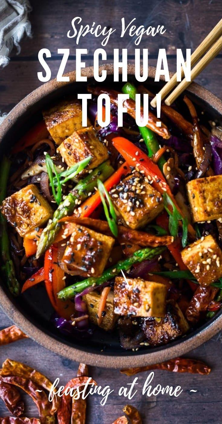 Szechuan Tofu and Veggies