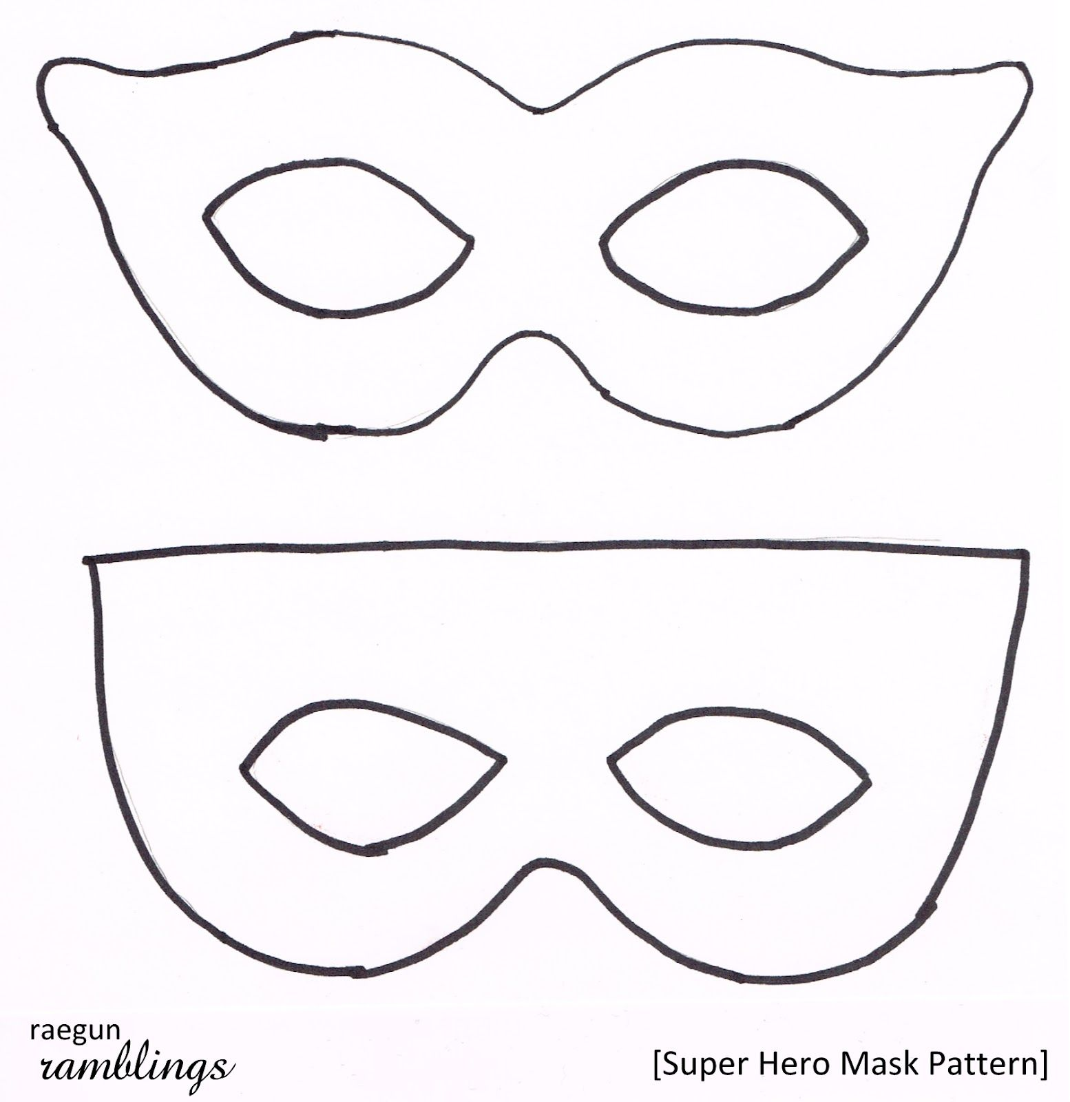 Famous Superhero Face Mask Template Gallery - Entry Level Resume ...