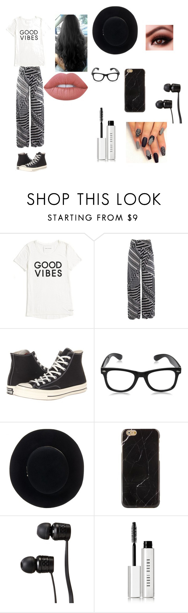 """""""Untitled #15"""" by minionlover710 on Polyvore featuring Tommy Hilfiger, Converse, Eugenia Kim, Vans, Bobbi Brown Cosmetics and Lime Crime"""