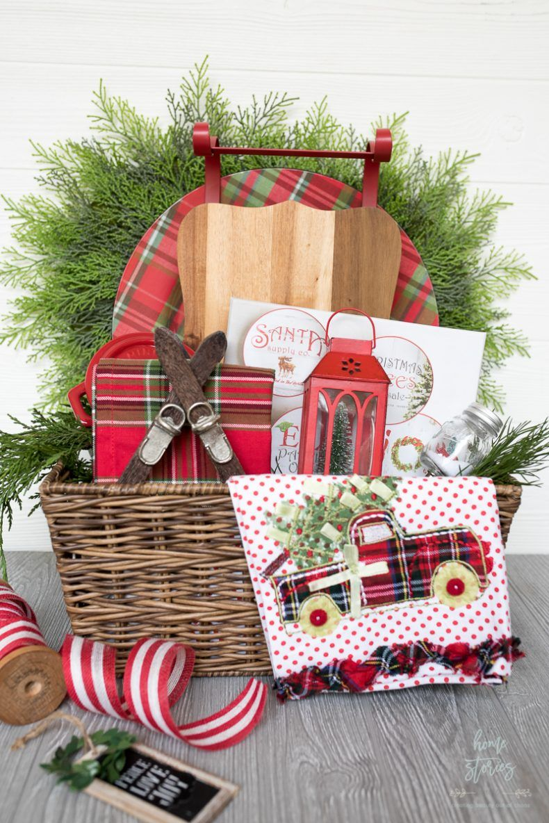 Creative And Luxe Holiday Gift Basket Ideas With Pier 1 Christmas Gift Baskets Holiday Gift Baskets Christmas Baskets