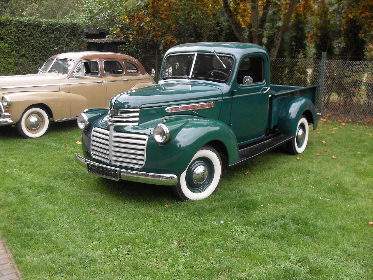 1943 Chevrolet G7117 1 5 Ton Vintage Pickup Trucks Vintage
