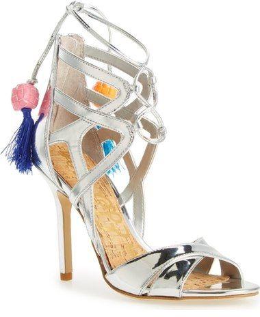 54990d429 Sam Edelman  Azela  Tassel Lace-Up Sandal (Women)