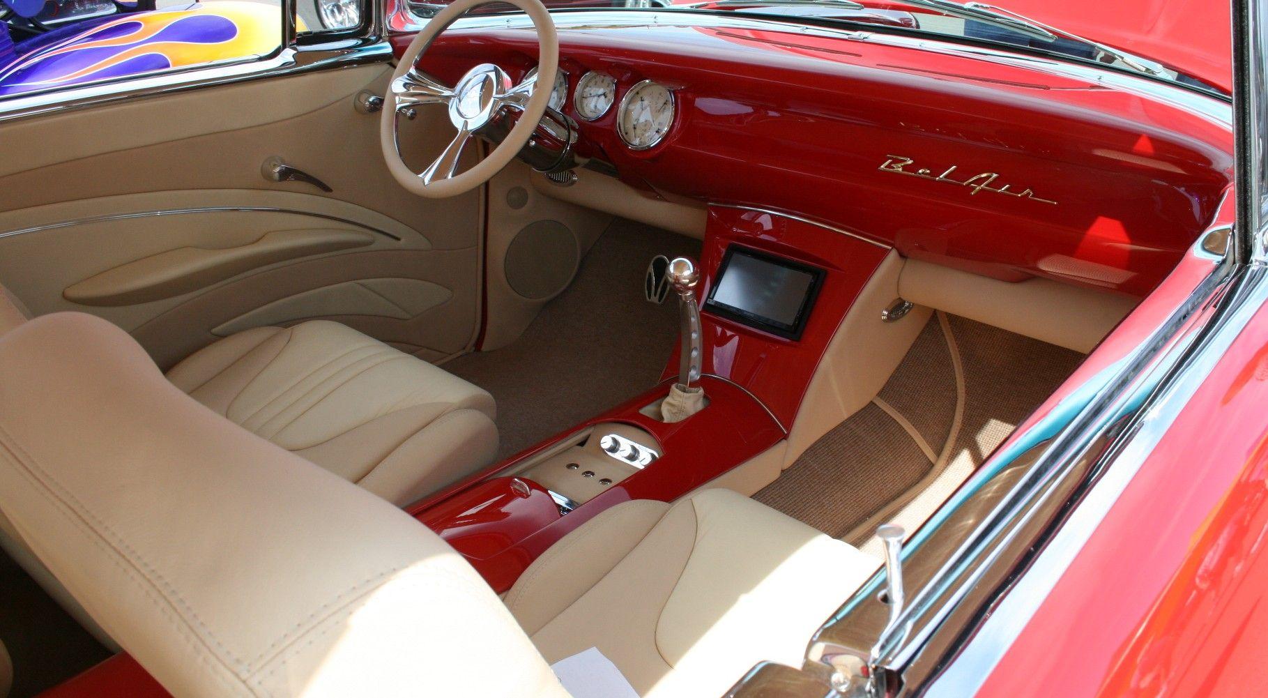 Custom Interior 57 Chevy Bel Air Google Search 57 Chevy Bel Air Chevy Bel Air Custom Center Console