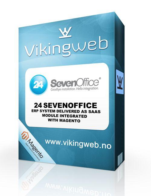 Vi tilbyr integrasjon mot #24SevenOffice som er et webbasert ERP-system som dekker hele verdi kjeden.