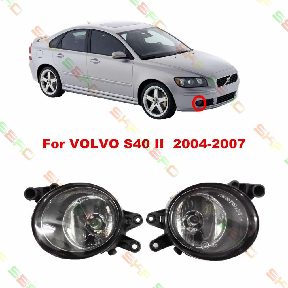 (Buy here: http://appdeal.ru/1lcz ) Car styling Halogen Fog LAMP Lamps FOG LIGHT LIGHTS  For VOLVO S40 2/II  2004-2007  1 SET for just US $35.89