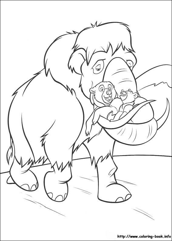 92 Brother Bear coloring pictures | Coloring - Brother Bear | Pinterest