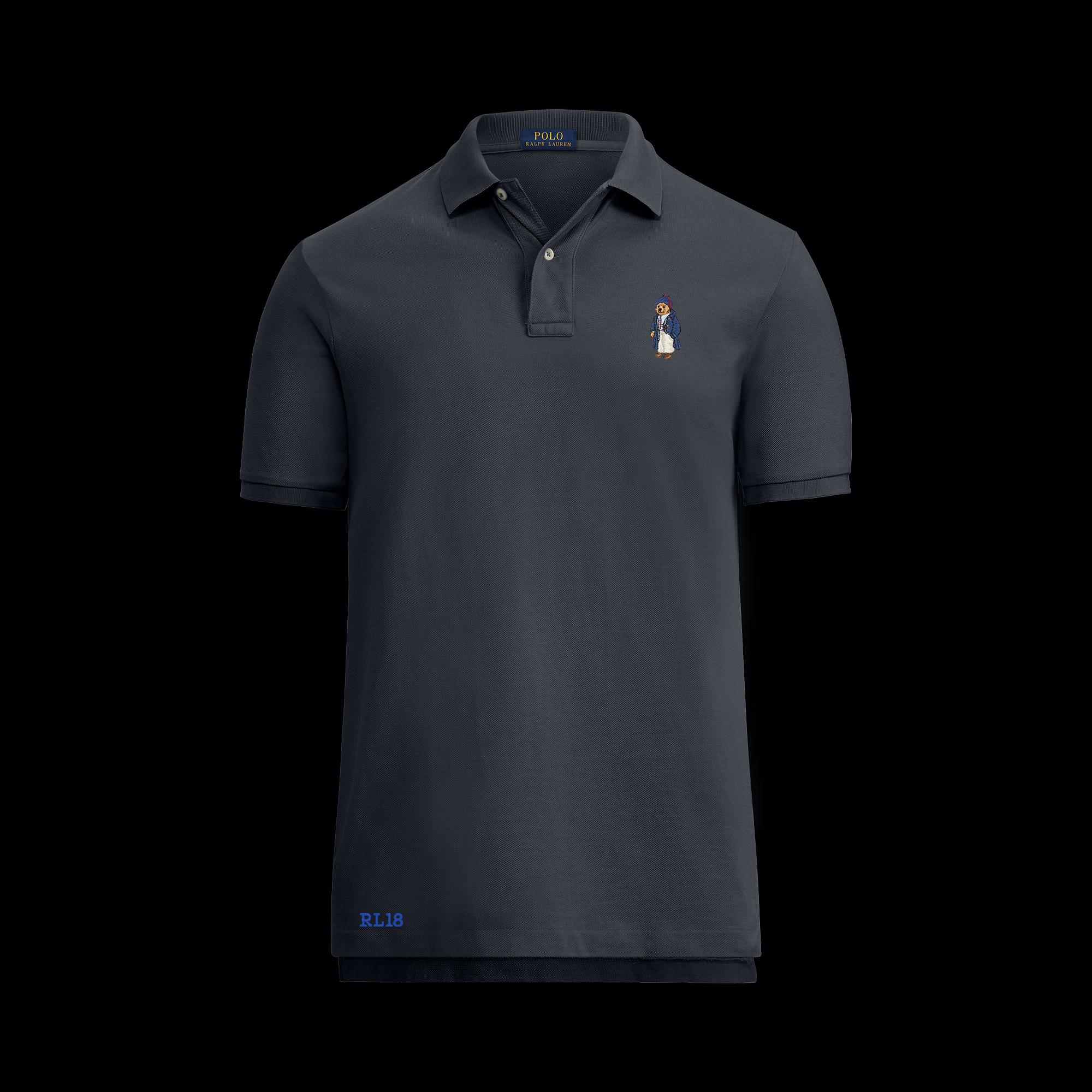 Men S Cotton Mesh Polo Shirt Shirts Ralph Lauren Mens Tops