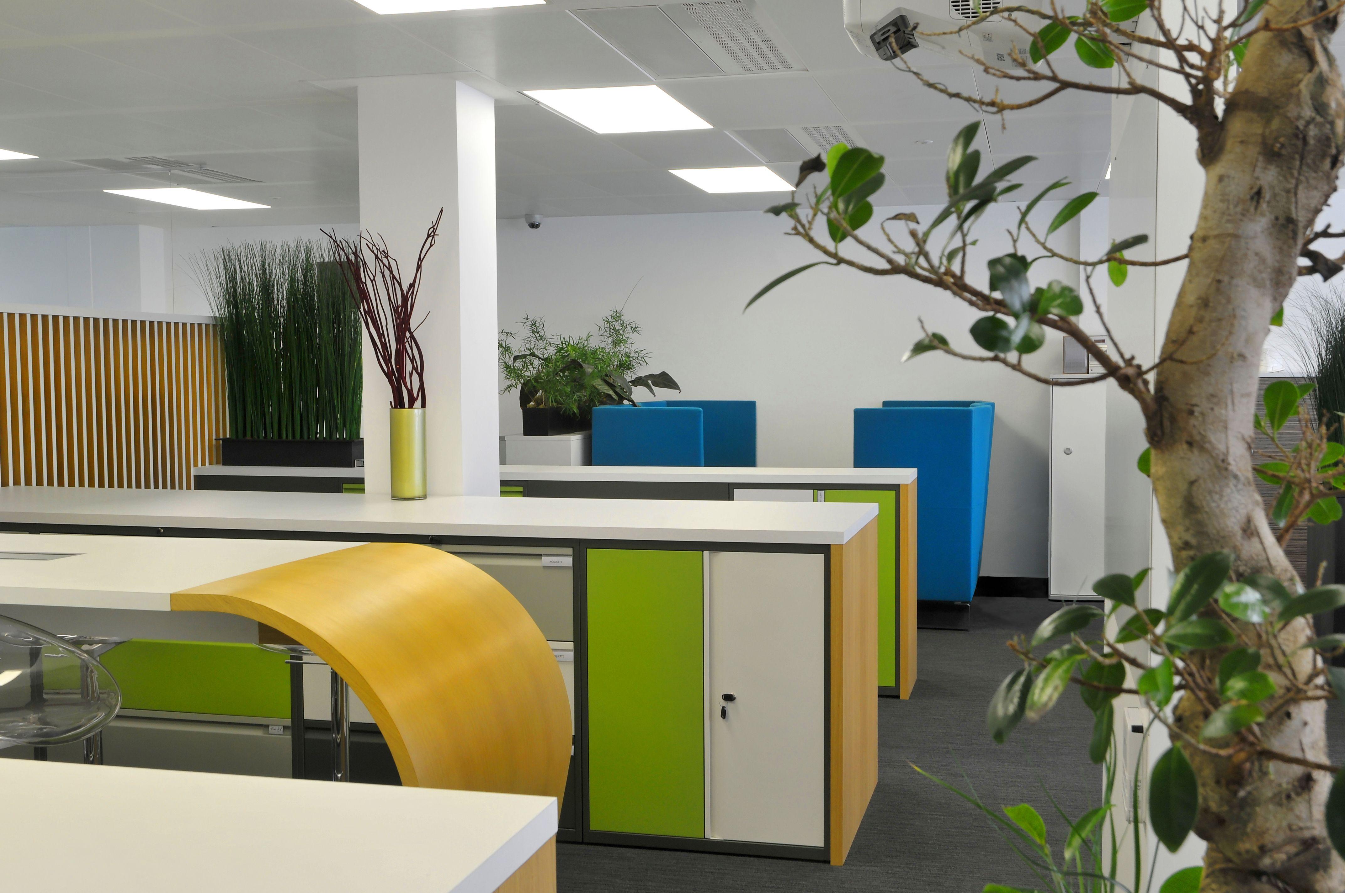 Open space by cléram. #style #design #bureau #architecture #modern
