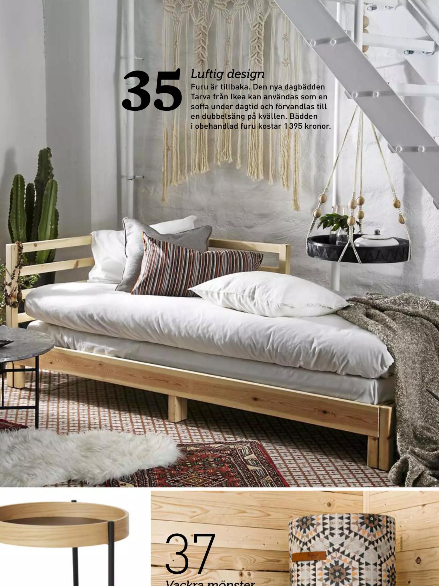 Snygg dagbädd från Ikea Sommarstugan Pinterest