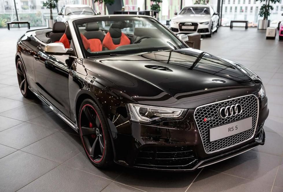 Audi Rs5 Black Convertible Google Search
