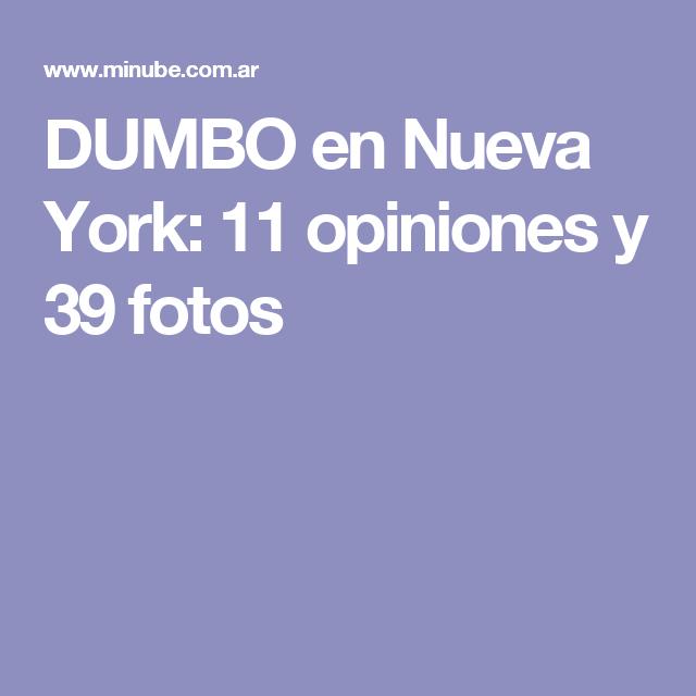 DUMBO en Nueva York: 11 opiniones y 39 fotos
