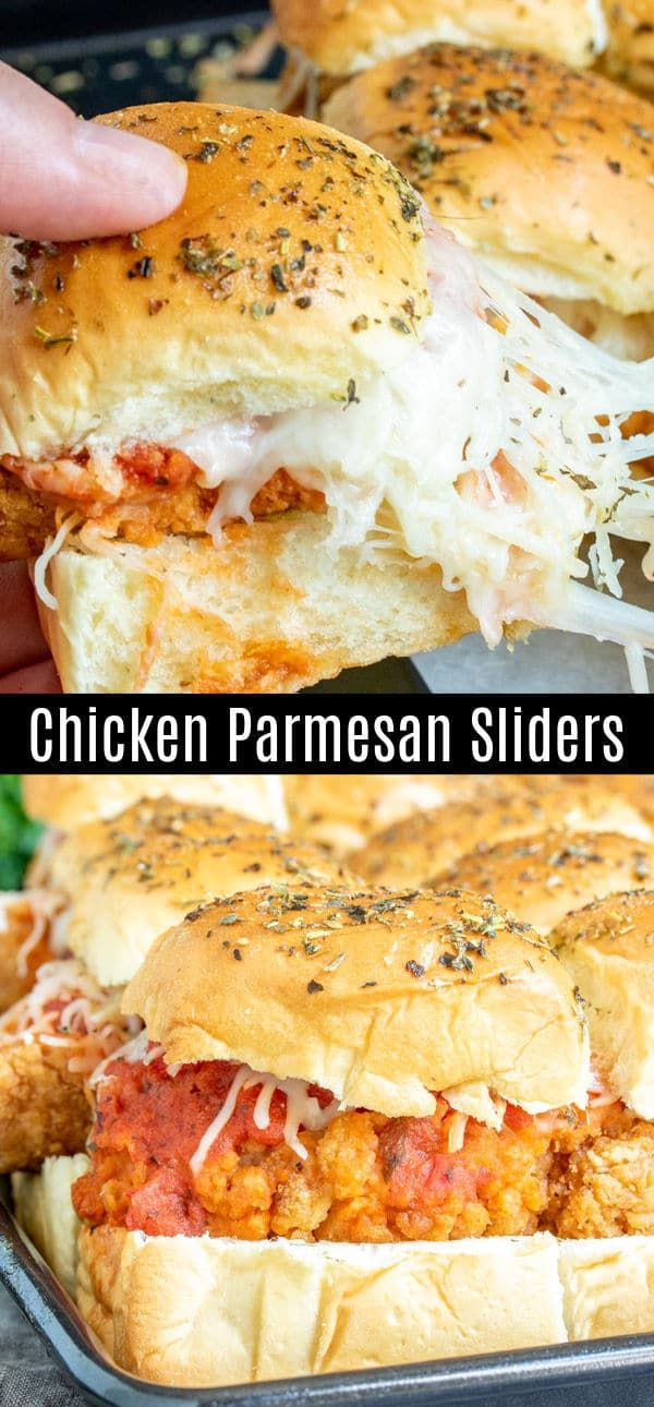 Chicken Parmesan Sliders | Home. Made. Interest.