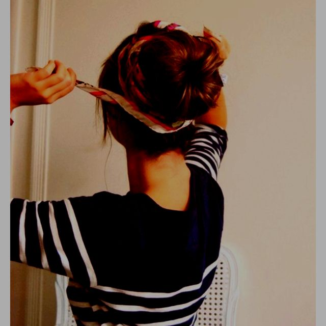 Great idea for a bad hair day