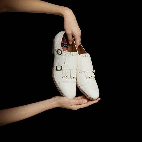 Monk strap shoes, Footwear design women