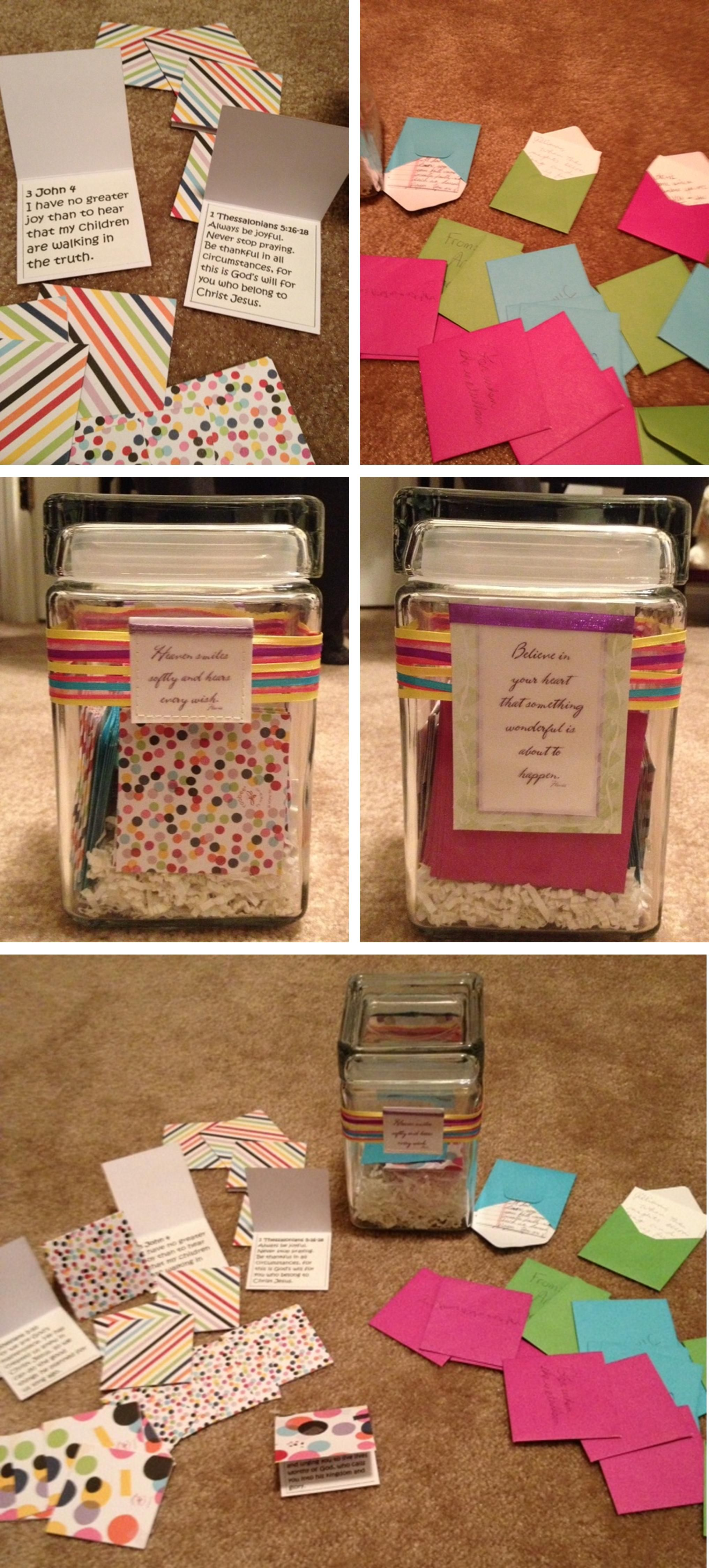 Mother S Day Baby Shower Ideas You Will Love Prayer Jar Encouragement Jar Baby Shower Gifts