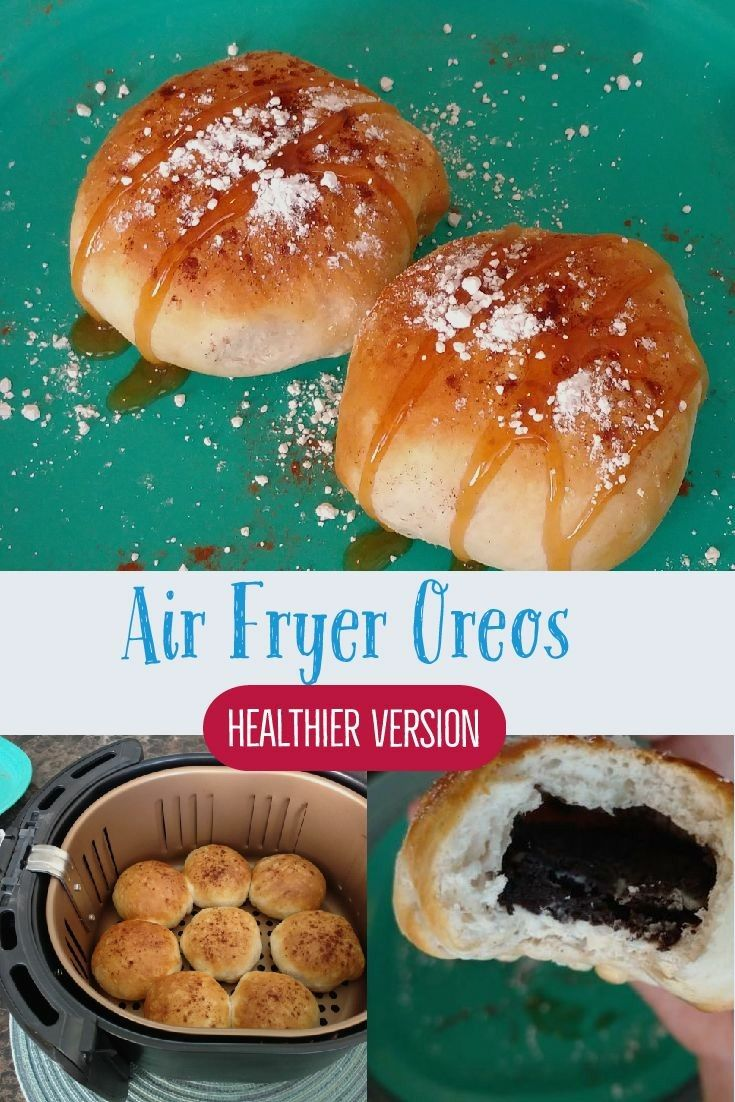 Air fryer Oreos. Please come and watch as I show you how