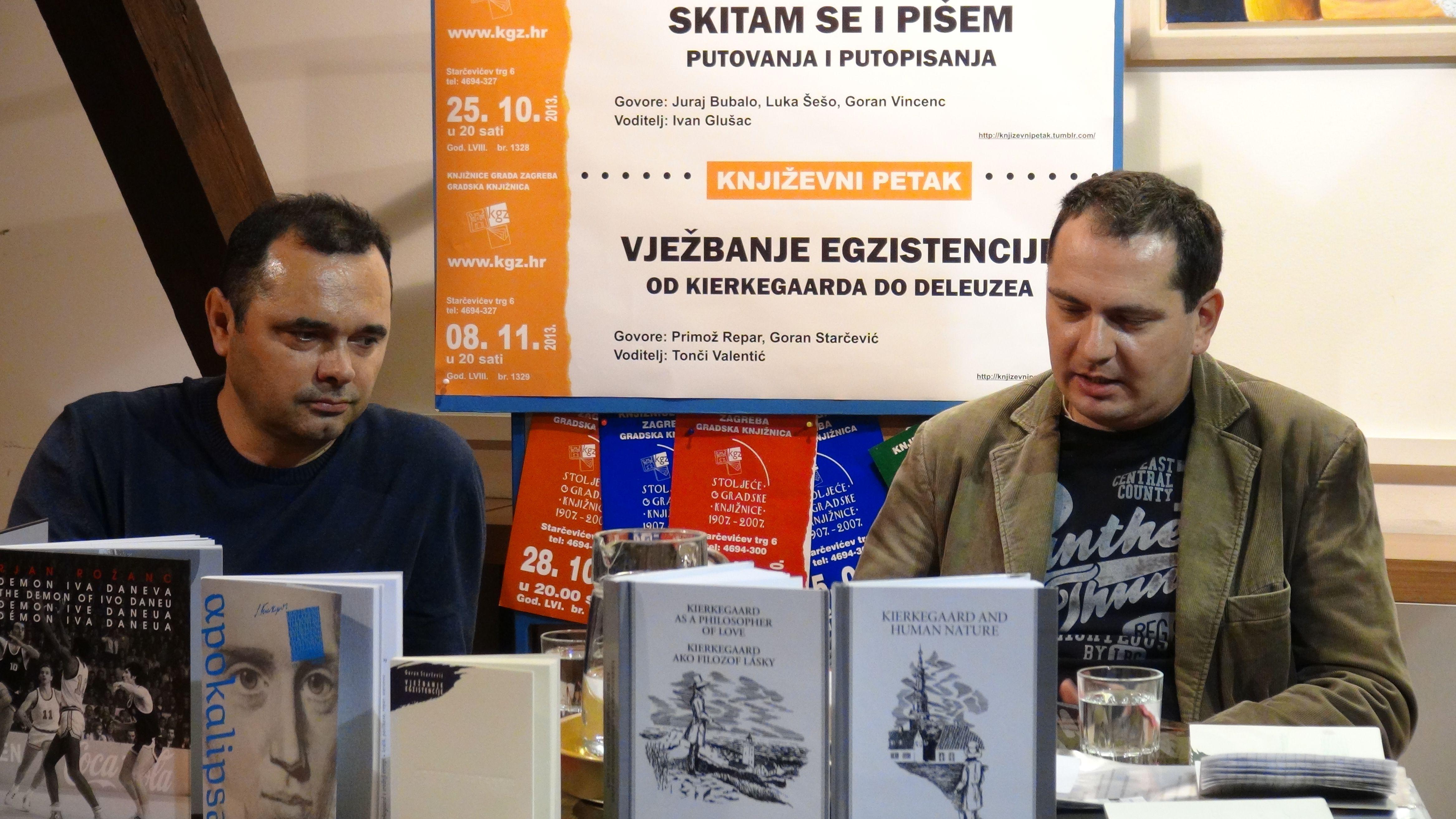 Goran Starčević i Tonči Valentić