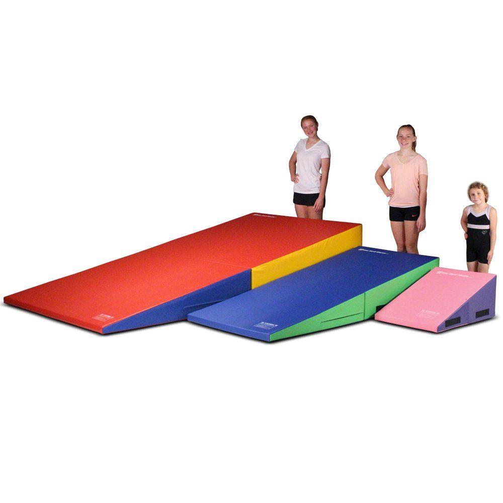 We Sell Mats Gymnastics Folding And Non Folding Incline Cheese Wedge Skill Shape Tumbling Mat Purple Pink 60 Long Tumble Mats Kids Tumbling Mat Gymnastics