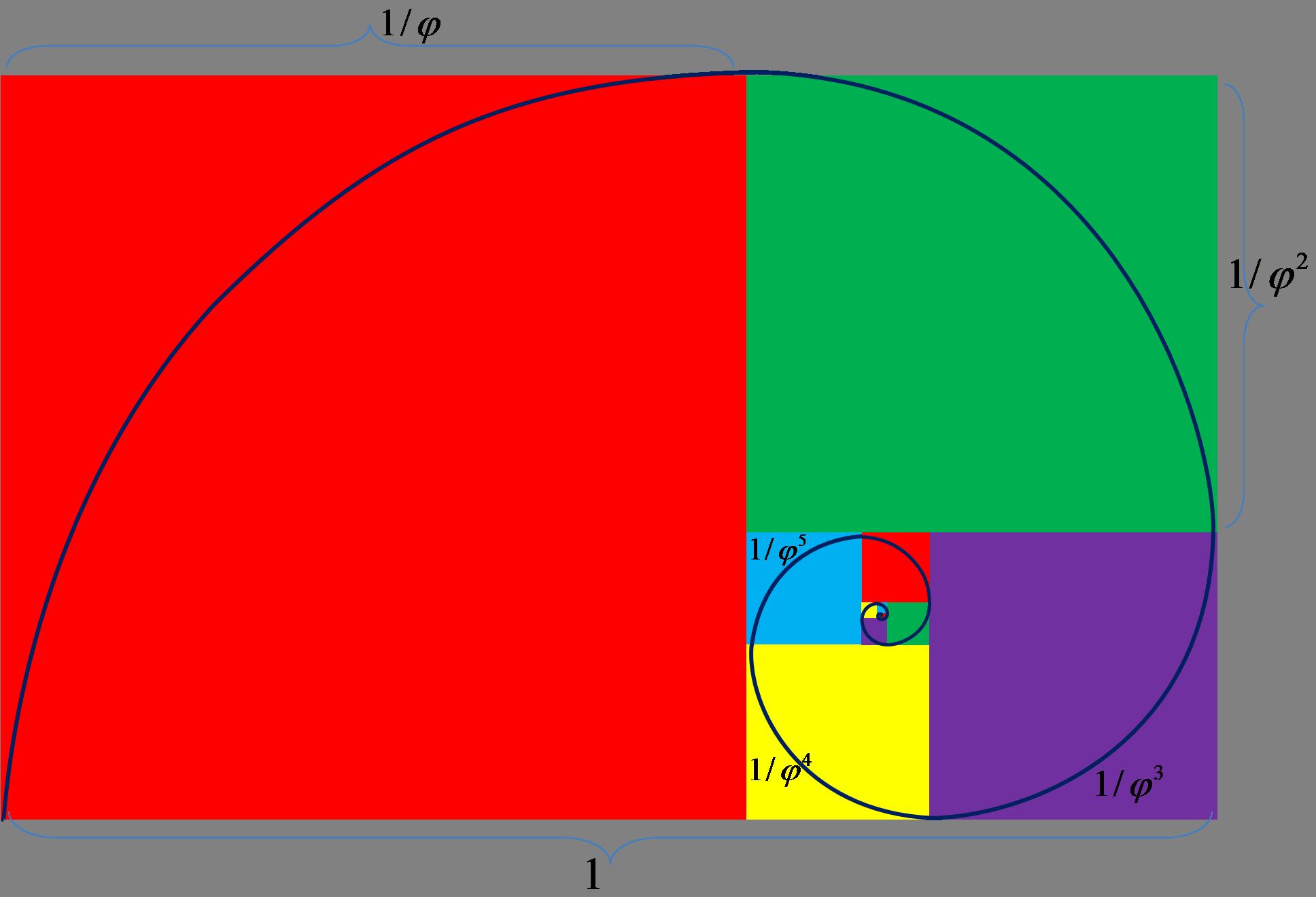 Fibonacci Spiral2 Png 2 010 1 247 Pixeles Png Tatuagens Desenho