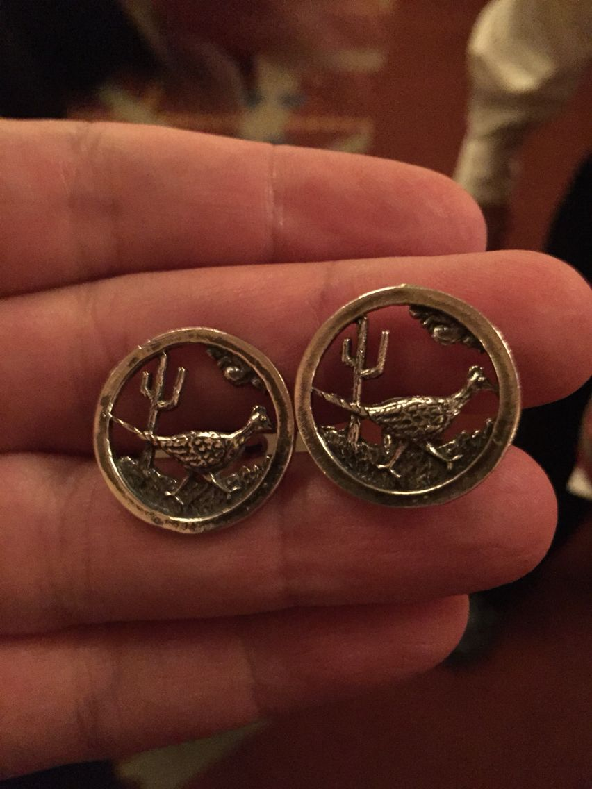 Cufflinks for the Southwest USA.