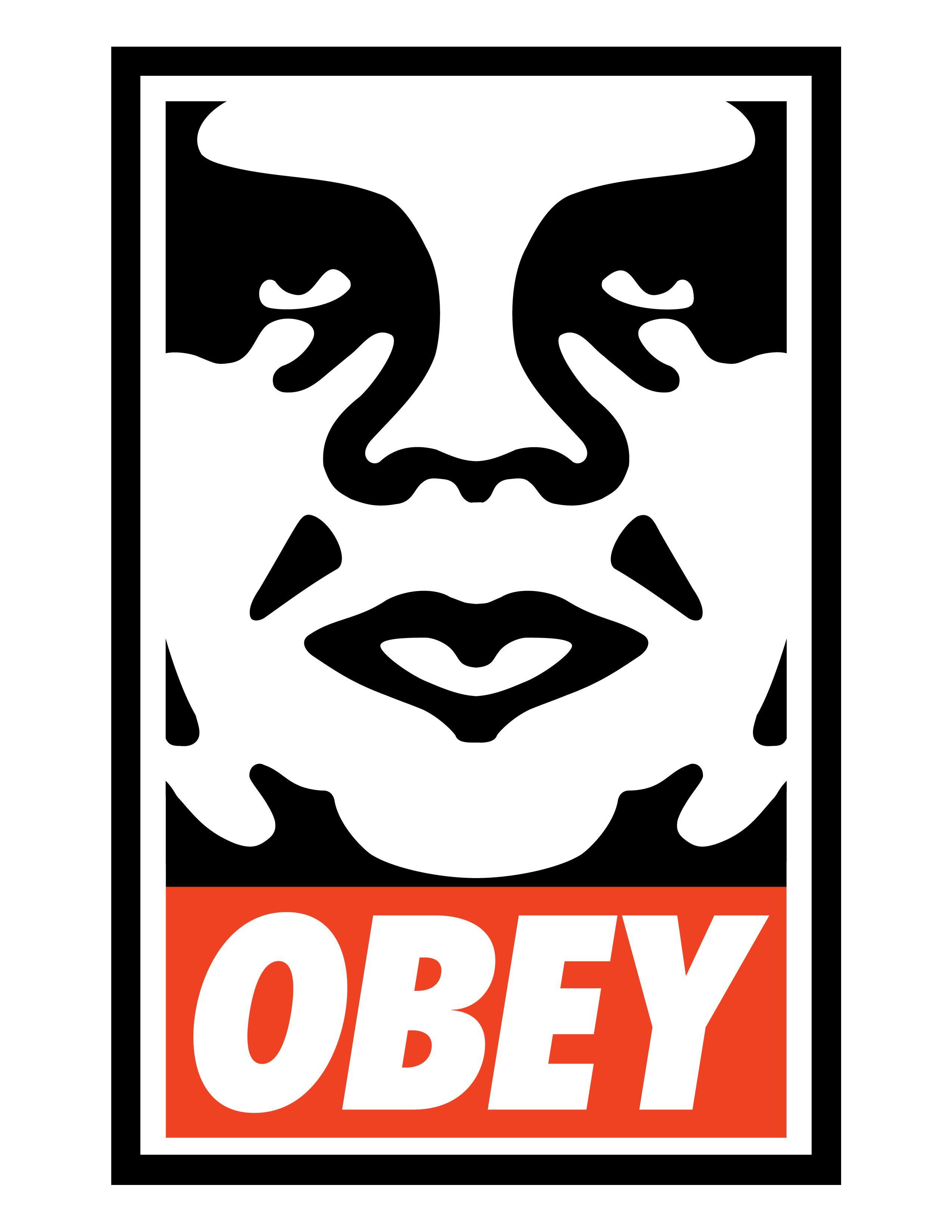 Pin by Dan Askew on Typography   Obey art, Shepard fairey obey, Street  artists