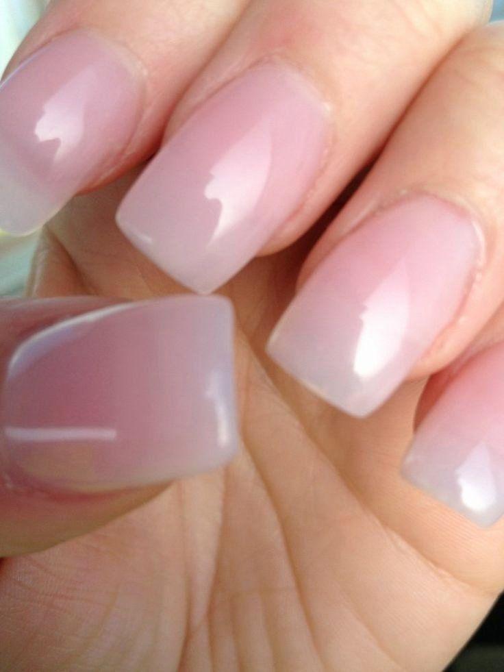 Clear gel nail polish 2020 natural acrylic nails