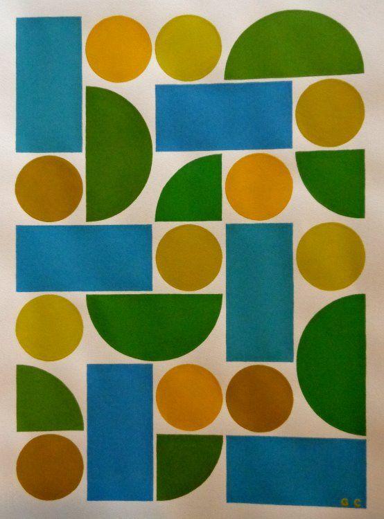Guy Cardon - acrylic on paper 50X70cm