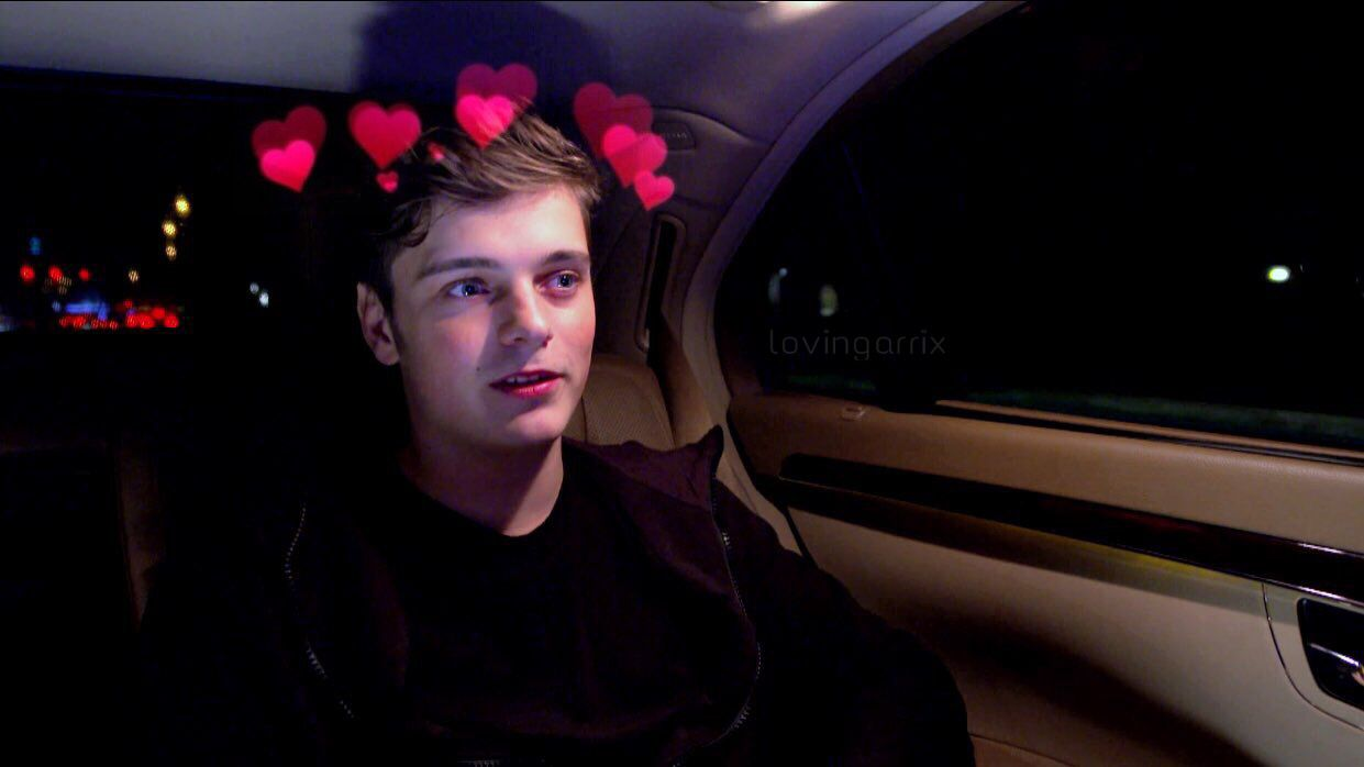 marty with hearts tho aww cutie