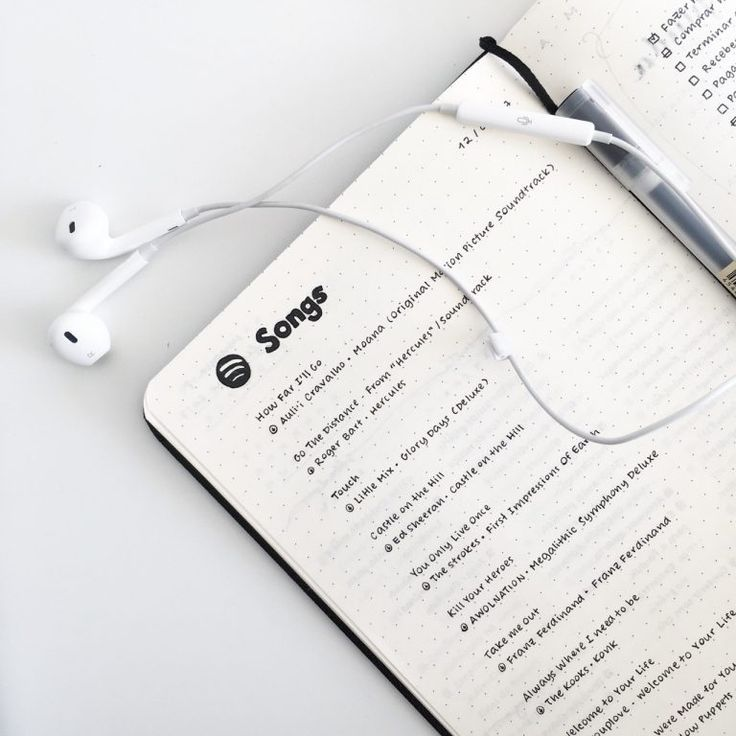 13 Simple Bullet Journal Spreads for the Minimalist #musicsongs